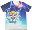【中古】Tシャツ(キャラクター) サンダーポプ子 フルグラフィックTシャツ ホワイト Lサイズ 「ポプテピピック」