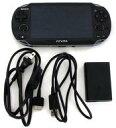 【中古】PSVITAハード(箱説無し) PlayStation Vita本体 lt lt 3G / Wi-Fiモデル gt gt (クリスタル ブラック) 初回限定版 PCH-1100 AA01 (箱 説明書無し) (箱説なし)