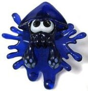 【中古】モバイル雑貨(キャラクター) ブルー 「Splatoon(スプラトゥーン) イカしたインクジャックマスコット(イヤホンジャックマスコット)」【タイムセール】