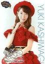 【中古】生写真(AKB48 SKE48)/アイドル/AKB48 柏木由紀/衣装赤 印刷サイン メッセージ入り クリスマスver./AKB48 CAFE & SHOP限定A4サイズ生写真ポスター 「AKB48 Happy White Christmas 2015」【タイムセール】