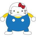 【中古】フィギュア HELLO KITTY A(白×青) 「ハローキティ」 DARUMA CLUB ABS製塗装済み完成品【タイムセール】
