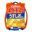 【中古】バッグ(キャラクター) うすしお味 カルビーポテトチップス リュック