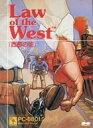 【中古】PC-8801 5インチソフト Law of the West:西部の掟
