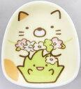 【中古】皿・茶碗(キャラクター) ねこ&ざっそう ミニプレート 「一番くじ すみっコぐらし ねこのきょうだいにであいました」 F賞