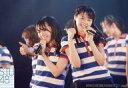 【中古】生写真(AKB48・SKE48)/アイドル/STU48 瀧野由美子・土路生優里/ライブフォト・横型・上半身・衣装青白・ボーダー柄・右手親指立て・左手マイク/「STU48出張公演@SKE48劇場」会場限定生写真