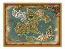 ショッピングドラゴンクエスト11 【中古】タオル・手ぬぐい(キャラクター) ワールドマップクロス 「ドラゴンクエストXI 過ぎ去りし時を求めて」