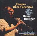 【中古】クラシックCD ホリガー(ハインツ) / <<ホリガー/オーボエ協奏曲集>> A・マルチェッロ、モーツァルト、ルクレール、ヴィヴァルディ、テレマンの作品(限定盤)