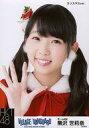 【中古】生写真(AKB48・SKE48)/アイドル/HKT48 熊沢世莉奈/バストアップ・クリスマスver./HKT48×ヴィレッジヴァンガード限定ランダム生写真(VILLAGE/VANGUARD EXCITNG BOOK STORE)