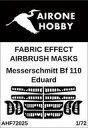 【中古】塗料・工具 1/72 Bf 110 コントロールサーフェイス 塗装マスクシール エデュアルド用 [AOHF72025]
