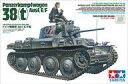 【新品】プラモデル 1/35 ドイツ軽戦車 38t E/F型 「ミリタリーミニチュアシリーズ」 ディスプレイモデル [35369]