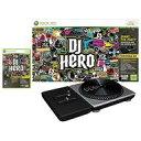 【中古】XBOX360ハード EU版 DJ HERO Bundle with Turntable(国内版本体動作可)(状態:本体状態難)