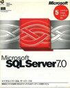 【中古】WindowsNT CDソフト Microsoft SQL Server 7.0