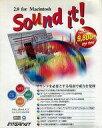 【中古】MacOS8.6 CDソフト Sound it! 2.0 for Macintosh