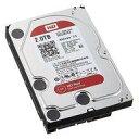 【中古】PCハード 内蔵型 SATAハードディスクドライブ WD RED 2.0TB[WD20EFRX]