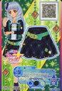 【中古】アイカツDCD 3-32-(4)-a[P]:【ランクB】クロスゴシックグリーンミニスカート/白銀リリィ