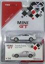 【中古】ミニカー 1/64 TOYOTA Supra(スーパーホワイト) 「MINI GTシリーズ No.14」 トイザらス限定 [MGT00014-TRU]