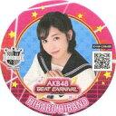 【中古】コースター(女性) 平野ひかる コラボコースター 「AKB48ビートカーニバル×AKB48 CAFE&SHOP」 コラボメニュー注文特典