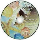 【中古】WindowsVista/7/8 DVDソフト Free! Illustration Archives