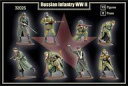 【新品】プラモデル 1/32 WW.II ロシア軍 歩兵 15体/8ポーズ [MFG32025]