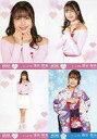 【中古】生写真(AKB48・SKE48)/アイドル/HKT48 ◇清水梨央/「HKT48 栄光のラビリンス」ミニポスター生写真 第65弾 4種コンプリートセット
