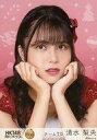 【中古】生写真(AKB48・SKE48)/アイドル/HKT48 H60 058-4:清水梨央/レア/「HKT48 栄光のラビリンス」ミニポスター生写真 第60弾