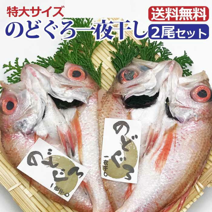 特大 のどぐろ干物X2枚セット 無添加 日本海の...の商品画像