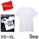 ヘインズ シャツ ブルーパック VネックTシャツ 3枚組 shirt XS〜XL (Hanes BLUE PACK)