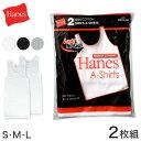 Hanes レッドパック タンクトップ 2枚組 S〜L (ヘインズ RED PACK A-shirts メンズ リ
