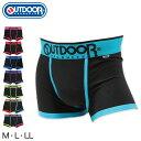 OUTDOOR PRODUCTS ボクサーパンツ メンズ 綿混 前とじ M〜LL (outdoor products アウトドア ボクサーブリーフ 下着 男性 紳士 紳士肌着 パンツ インナー M L LL)