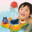 楽しく遊べるお風呂のおもちゃ 玩具 アンパンマンのわくわくふんすいパラダイス 〈子供用玩具 おふろのおもちゃ 子ども こども 幼児 あんぱんまん ばいきんまん バイキンマン くじら 鯨 通販〉
