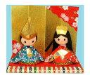 和紙おひなさま ケース入・パート2 〈和紙置物 和紙人形 雛...