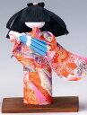 手づくり民芸 和柄 和紙人形 傘 (小) 日本製です。 〈日本人形 おにんぎょう 和の置物・インテリア 日本のおみやげ 海外・外国へのお土産・プレゼントにもおススメです! 通販〉