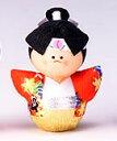 手づくり民芸 和柄 和紙人形 起き上がりこぼし 起き上がり桃太郎人形 日本製です。 ○本品の色・柄は当店にお任せ頂くようになります。 〈日本人形 和の置物 七転八起 七転び八起き ももたろう人形 通販〉