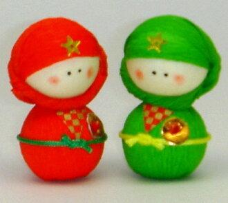 圖案手工製作精靈娃娃紙娃娃刀日本製造的日本民俗藝術是忍者。  請選擇您的產品,從 6 種顏色的紅色、 藍色、 黃色、 黑色、 綠色、 橙色。  [日本日本俑豐富體育資源的七転び八起き 忍者玩偶店嗎?