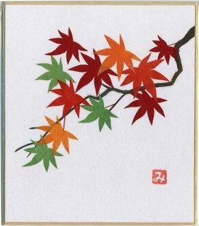 画是红叶、红叶花语:重要的回忆珍藏的宝贝节制顾忌自制-贴贴画画