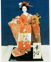 玩具, 興趣, 遊戲 - 久月作 日本人形(尾山人形) 片袖脱刺繍 【華心】 Japanese doll 〈日本の伝統品 にほんにんぎょう 和人形 お人形 和の置物・お飾り・インテリア 日本のおみやげ 海外・外国へのお土産・プレゼントにもおススメです! 通販〉