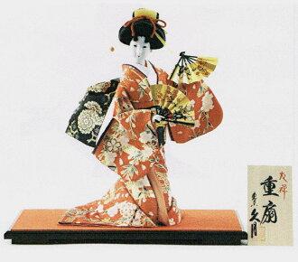 希莎做娃娃 (形山尾) 號 10 友禪坐日本娃娃 (日本尚志,日本娃娃傀儡的日本傳統工藝紀念品從國外和外國的紀念品和禮品的室內文化傳統的日本娃娃一形式傳統娃娃娃娃日本俑)