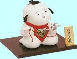 周一 - 部門監制日本娃娃 - 這是業界的頂級品牌織錦染了很長一段時間監制星期一(故宮娃娃) - 日本娃娃起重機;[久月監製 錦染作 日本人形(御所人形) 【折鶴】 Japanese doll]