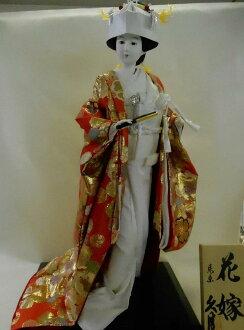 H.使娃娃 (娃娃新娘) 第 10 號日本新娘娃娃 q 日本尚志,日本娃娃傳統日本娃娃純白色連衣裙娃娃一形式傳統娃娃娃娃日本俑,傀儡內部文化的日本傳統工藝紀念品從國外和外國紀念品禮物嗎?