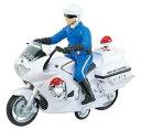 働く車コレクション ミニカー ミニチュアバイク 趣味の玩具・模型 長さ26cm はたらくのりもの サウンドポリスバイク 白バイ模型 ハイウェイパトロールミニサイズバイク 〈二輪車模型 自動二輪模型 オートバイ、モーターバイク模型 おもちゃの通販〉