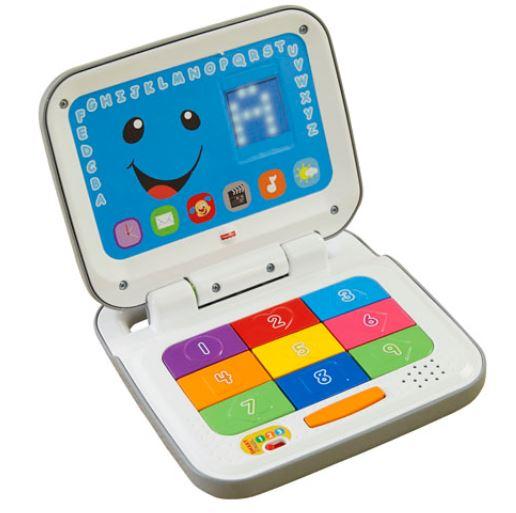 玩具楽しく遊べるおもちゃ・ベビー向けおもちゃフィッシャープライスお子さま専用のパソコン型おもちゃCD