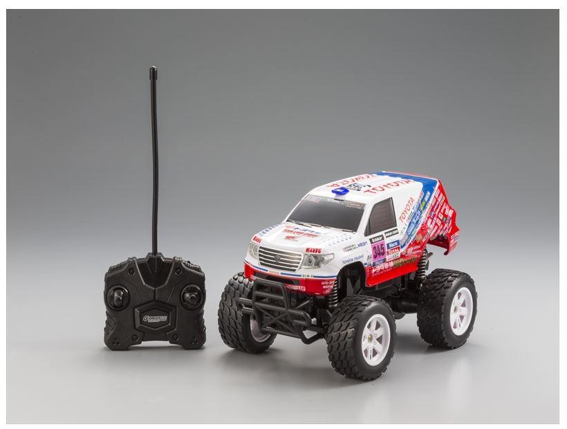 ホビーラジコン趣味の玩具・模型カーコレクション1/16RCG−DRIVEecoトヨタSUVランドクル