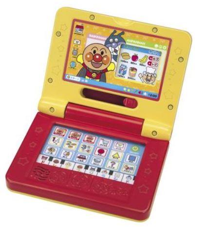 玩具楽しく遊べるおもちゃ・ゲームそれいけアンパンマンパソコンだいすきミニ音声&メロディ付き〈子供用玩