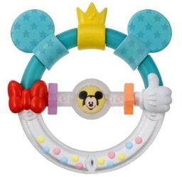 玩具 楽しく遊べるおもちゃ・ベビー向けおもちゃ ディズニーベビートイ Dear Little Hands おしゃぶりラトル ミッキー&ミニー 〈子供用 子ども 幼児用 赤ちゃん用 あかちゃん 乳児 ベビーグッズ Mickey Mouse 歯固め がらがら 知育〉