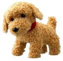 コミュニケーションペットシリーズ ゆかいな街の楽しい仲間 おもちゃ 電動ぬいぐるみ ふれあいペット たのしいおもちゃたち おさんぽワンワン トイプードル 〈こども 子ども用玩具 子犬の縫い包み こいぬの縫いぐるみ 犬のぬいぐるみ poodle〉