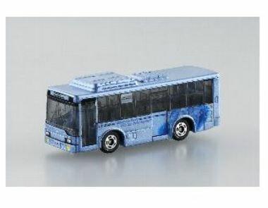楽しく遊べるおもちゃ・玩具乗用車コレクションカーコレクショントミカNo72三菱ふそうエアロスターエコ