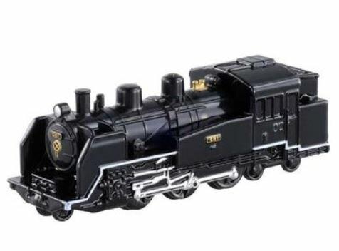楽しく遊べるおもちゃ・玩具鉄道コレクションミニチュアトレイントミカNo80C111蒸気機関車国鉄C1