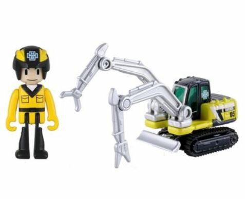 楽しく遊べるおもちゃ・玩具カーコレクションミニカートミカハイパーシリーズハイパービルダーHB05ビル