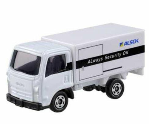 楽しく遊べるおもちゃ・玩具トラックコレクションカーコレクショントミカNo34ALSOK現金輸送車〈趣