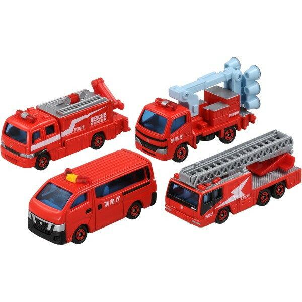 楽しく遊べるおもちゃ・玩具カーコレクションミニカートミカギフトセット消防車両コレクション2〈趣味・コ